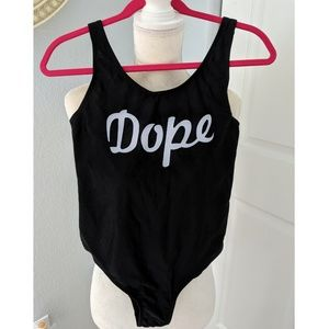 Other - One piece suit - Dope